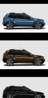 Dacia Duster-side view by EDL by EDLdesign