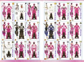 Power Rangers SUPER Megaforce Keys - Pink by LavenderRanger