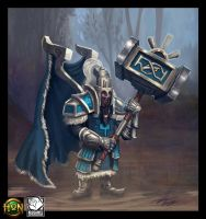 Hammer lord - Heroes of Newerth by RavenseyeTravisLacey