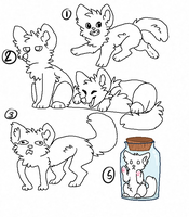 doodle ych all taken by Chargay