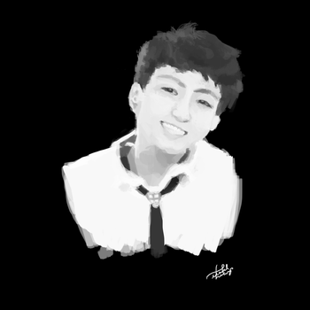 [Digital]: BTS Jungkook (Boy in Luv) by merveilllux