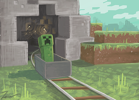 Creeper Trolly by TheCongressman1