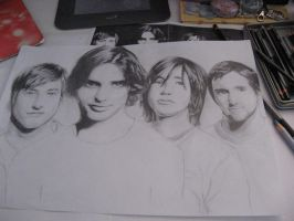 The All-American Rejects WIP by Lasuna