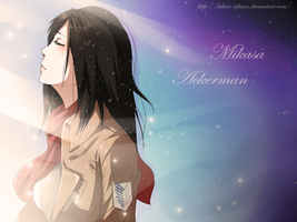 ` Shingeki no Kyojin: Mikasa Ackerman by Eternal--Melancholy