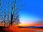 Austrian Winter Sunset by Gumballnatic