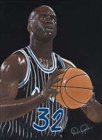 Shaq 1992 Draft Season by drankin