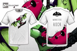 Monsters Rock by Scarlett-scribble