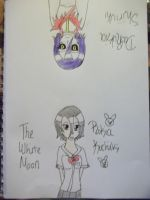 The White Moon's Double Life Colored by AlyHisanaKurosaki16