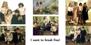 I Want To Break Free Collage by MrsBriannaMay