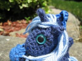 Mini Princess Luna Plushie Amigurumi Detail 1 by RTakeshi