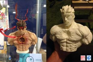 EVIL RYU garage kit by rgm501