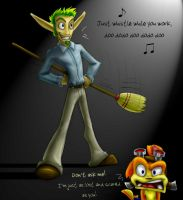What's Jak Doing?... by COOKEcakes