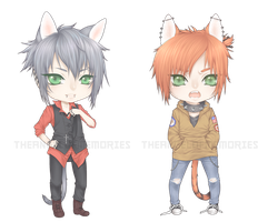 Rurik + Max chibis by TheAngelOfMemories