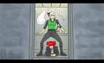 Touhou Gangnam Style: Komachi and Youmu by Tres-Iques