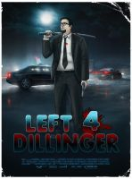 L4Dillinger poster by DecayingArt