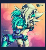 Collab: Kimber and Discharge by GodzillaJAPAN