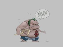 Mid Pudge by cedalcalde