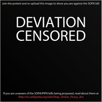 Support the protest and Stop SOPA by Jex-LumiKhoth