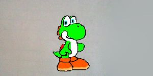 Just a Baby Yoshi by mariosonic029