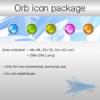 Orb icon package by Avhaz