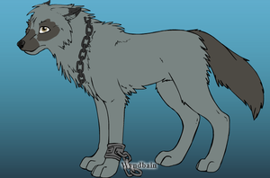 Me as a wolf by jenna1204