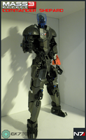 MOC: Commander Shepard from Mass Effect 3 by gk733