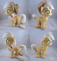 mlp Filly Applejack plush by Little-Broy-Peep