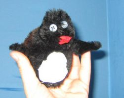 Baby Penguin by puppetry