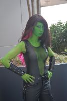 Gamora by RougeLeaderRed
