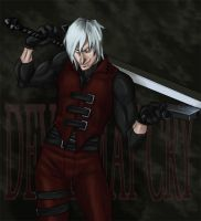 Dante weapons colored by Oboe