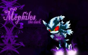 Mephiles wallpaper by Fantailed-Hedgehog