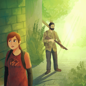 The Last of Us: Fanart by C-H-I-Z-U
