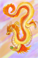 Oriental Dragon by Elycian
