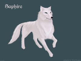 Saphire adopted by DracKeagan by Sxania