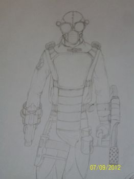 Steam Punk Police full drawing by Enrique23