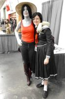 Otakon 2013 Cosplay - Marcelline Befriends Touko by LordNobleheart