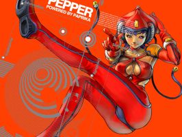 Pepper Float by Artgerm