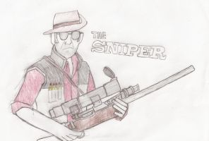 The Sniper by Liru-The-Werewolf2