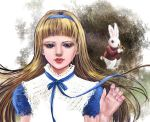 Alice and the White rabbit by schumy330