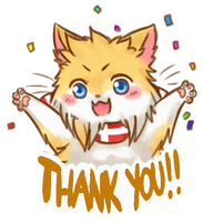 Thanks for 500! by AskDencat