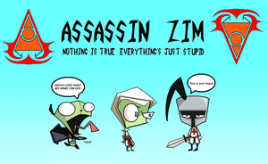 Assassin Zim by caboosemcgrief
