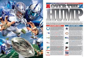 PENTHOUSE NFL PREVIEW OCTOBER by grafikdzine