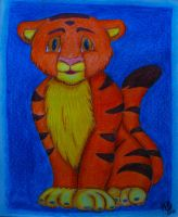 Young tiger by Wayna