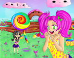 Candyland by Meeowy