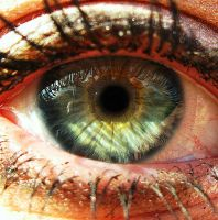 colourful Eye by AlinaGorn