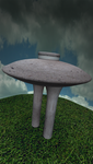 MMD Water Tower Stage by mbarnesMMD