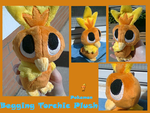 Begging Torchic Plush by methuselah-alchemist