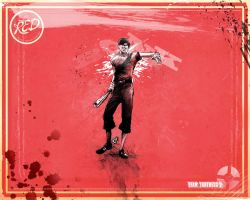Scout Wallpaper Red Small by GAVade