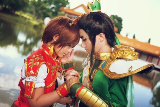 Dynasty Warrior - Our Love Story by crystalfirey