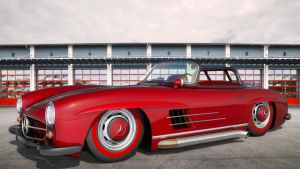 1956 Mercedes Benz 300 SL Roadster by SamCurry